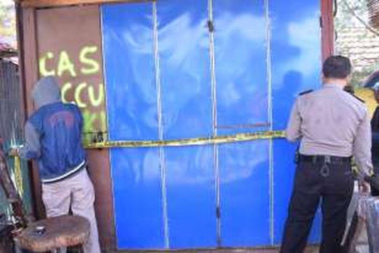 Jadi Tempat Pembuatan Panah Bengkel Las Ini Ditutup Polisi