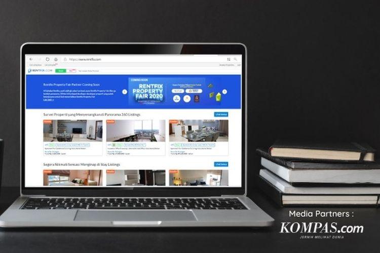 Pameran Rentfix Properti Online Fire yang akan digelar pada 17-18 Desember 2020
