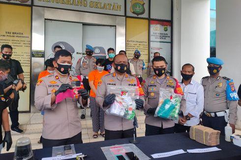 Pabrik Ekstasi Rumahan di Cipondoh Mampu Produksi 50 Butir Pil Per Hari