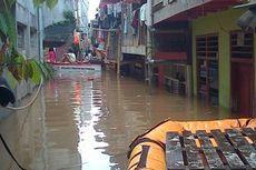 Banjir Terus Naik di Kampung Pulo
