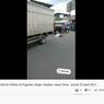 Terobos Lampu Merah, Mobil Boks Hajar 3 Mobil dan 2 Sepeda Motor
