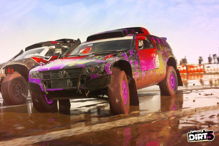Ilustrasi game Dirt 5.