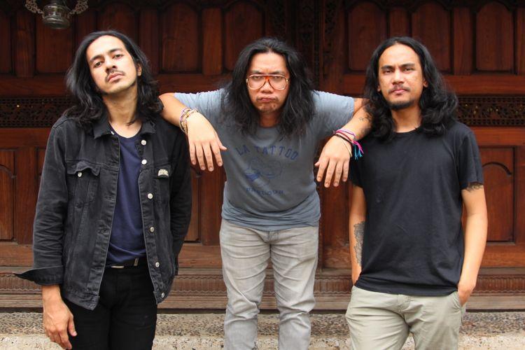Kelompok Penerbang Roket (KPR) dalam sesi foto di Bentara Budaya Jakarta, Palmerah, Jakarta, Selasa (3/10/2017). KPR dijadwalkan akan mengisi gelaran Synchronize Fest 2017.
