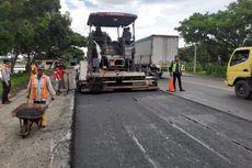 1.000 Personel Diturunkan Perbaiki Jalan Berlubang di Jalur Pantura dan Yogyakarta