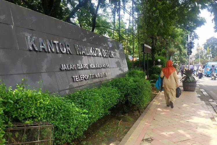Kantor Wali Kota Depok, Jalan Margonda Raya.