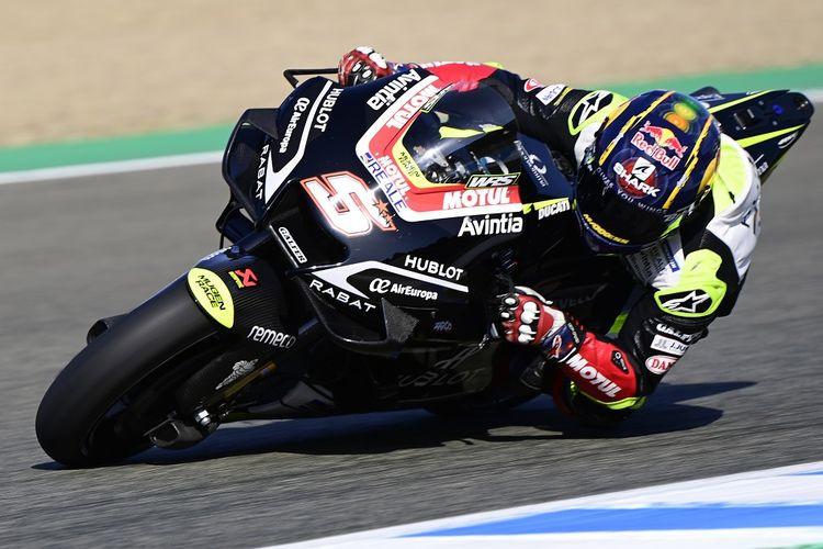 Pebalap Esponsorama Racing, Johann Zarco.