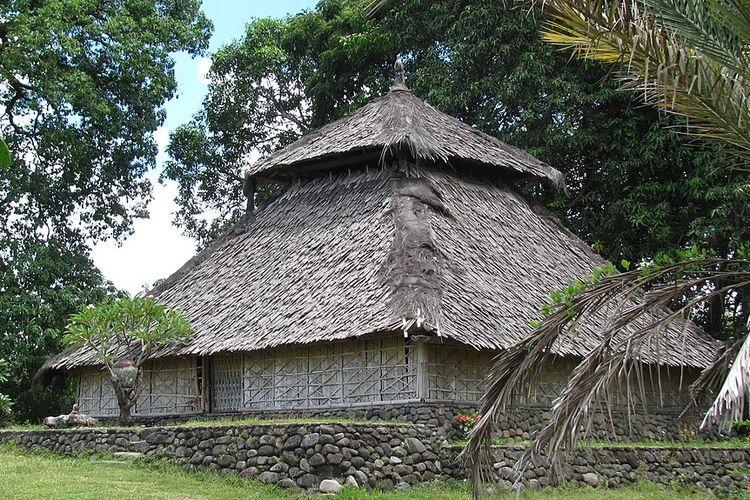 Masjid Bayan di Lombok.