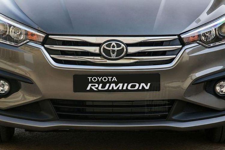 Ilustrasi Toyota Rumion