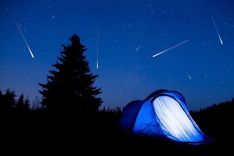 Kaleidoskop 2020 9 Hujan Meteor Sepanjang Tahun Ini Halaman All Kompas Com
