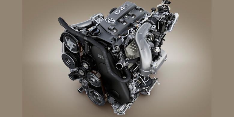 Mesin diesel turbo terbaru berkode GD akan menggantikan KD untuk Innova, Fortuner, dan Hilux terbaru.