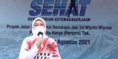 """Waskita Karya Terapkan """"Gerakan Pekerja Sehat"""", Menaker Ida Berikan Apresiasi"""