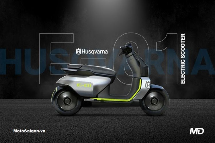 Skuter listrik Husqvarna E-01