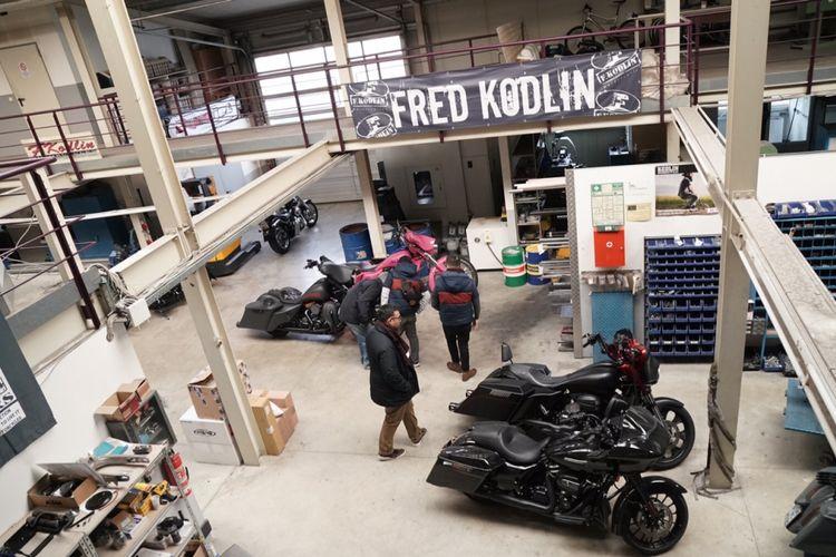 Fred Kodlin Motorcycle