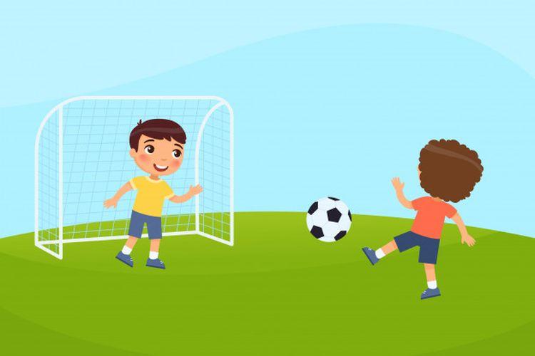 Gambar Lapangan Sepak Bola Beserta Keterangannya Halaman All Kompas Com