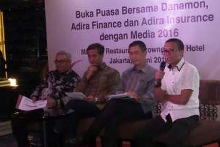 Acara buka puasa bersama Danamon, Danamon Syariah, Adira Finance, dan Adira Insurance, Rabu (8/6/2016).