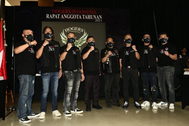 Rapat Anggota Tahunan HHOGers Indonesia digelar di Motovillage, Kemang, Minggu (14/2/2021)