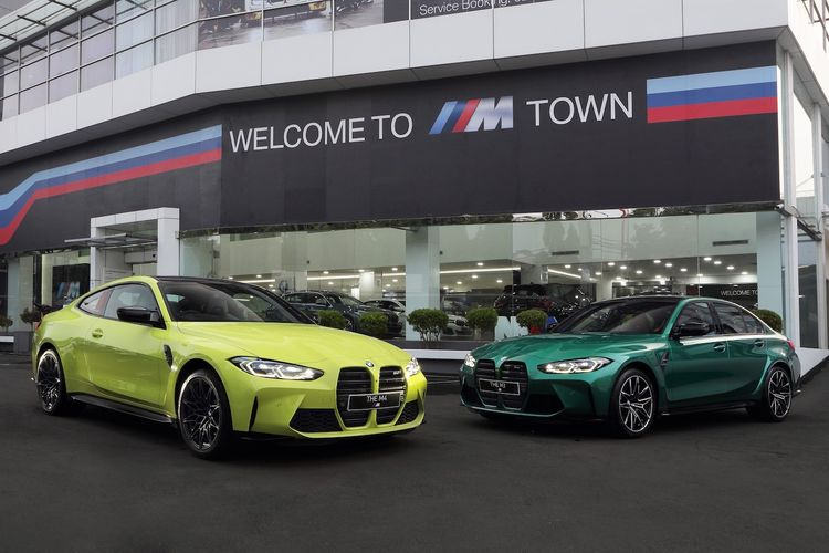 The New BMW M3 Competition dan The New BMW M4 Coupe Competition