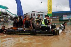 Banjir di Pasar Minggu dan Tebet 3,5 Meter, 10.000 Warga Mengungsi