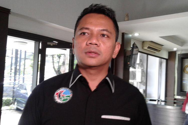 Kasat Narkoba Polres Jakarta Barat, AKBP Suhermanto saat ditemui Badan Narkotika Nasional (BNN), Cawang, Jakarta Timur, Kamis (30/3/2017).