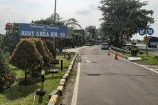 Arus Balik Liburan, Rest Area Tol Cikampek Km 52B Ditutup Sementara