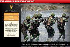 TNI AD Buka Rekrutmen Tamtama, Bintara, dan Taruna Akmil 2021, Simak Persyaratan hingga Cara Daftarnya...