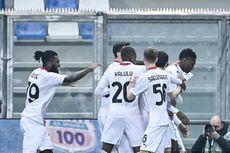 Hasil Lengkap dan Klasemen Liga Italia - AC Milan Berjaya, Napoli Buang Peluang