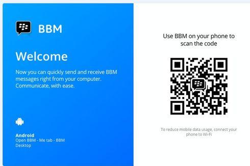 BBM Android Bisa Diakses Melalui Desktop