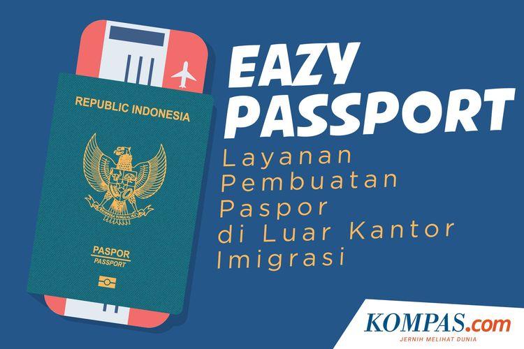 Eazy Passport, Layanan Pembuatan Paspor di Luar Kantor Imigrasi