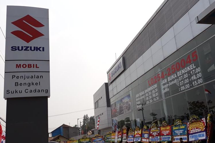 Suzuki resmikan diler Pusaka Motor Utama (PMU) di Serang, Banten