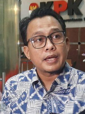 Plt Juru Bicara KPK Ali Fikri di Gedung Merah Putih KPK, Senin (24/2/2020).