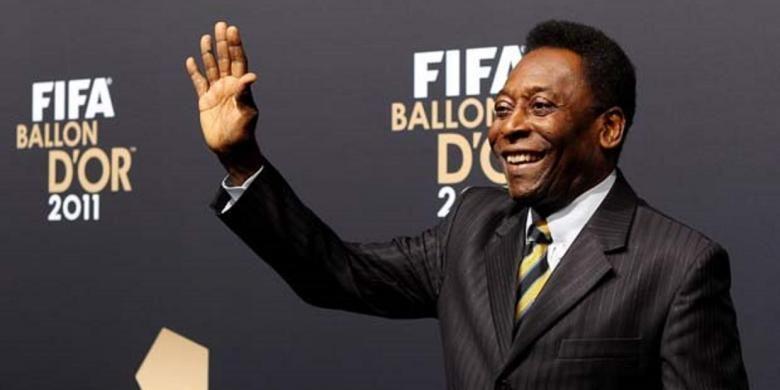 Legenda sepak bola Brasil, Pele.