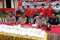Napi Lapas Tanjungpinang Kendalikan Sabu 38,7 Kg asal Malaysia