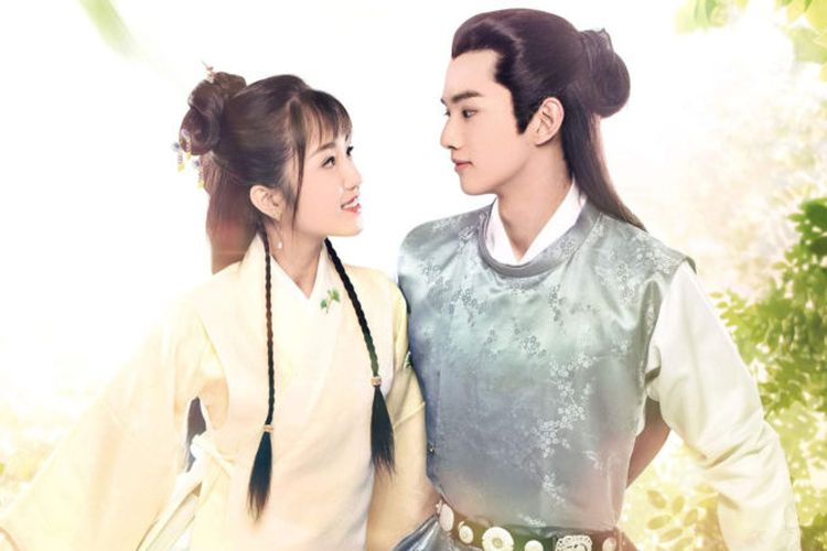 Poster serial China, A Love So Romantic.
