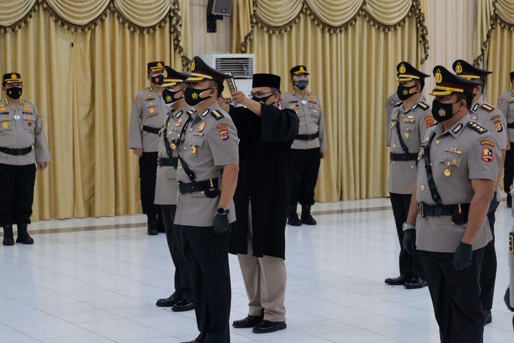 Kapolda Banten Irjen Rudy Heriyanto melantik Dirkrimsus hingga Kapolresta Tangerang