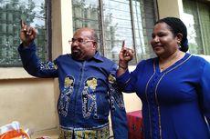 Gubernur Papua Klaim Wilayah Pegunungan Papua Bungkus Satu Suara Untuk Jokowi