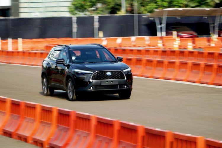 Sesi test drive All New Corolla Cross (Dok. Toyota)