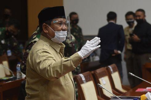 Prabowo Shalat Id dan Berlebaran di Hambalang