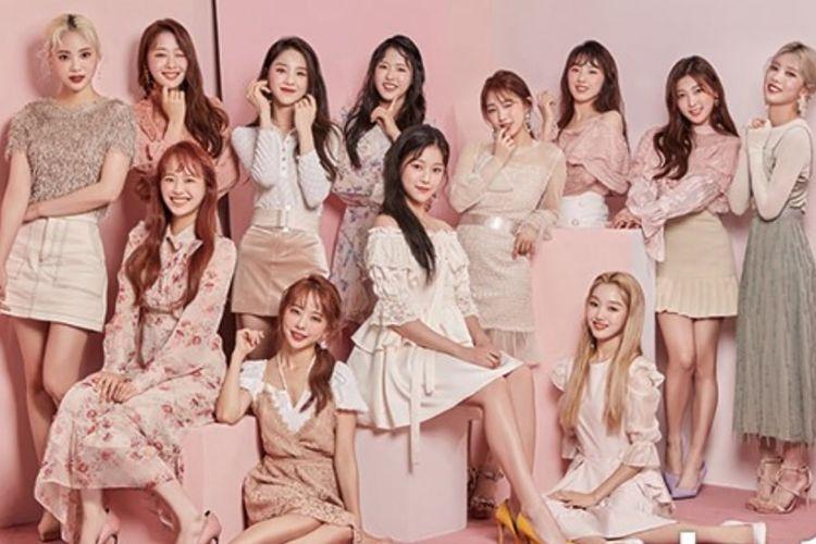 Girlband K-pop asal Korea Selatan Loona