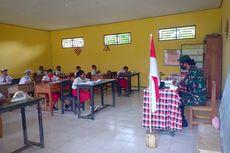 Saat TNI di Perbatasan Indonesia-Timor Leste Bantu Guru Jadi Pengawas Ujian Sekolah