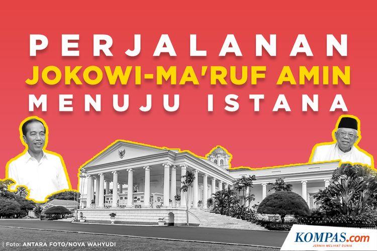 Infografik: Perjalanan Jokowi-Maruf Amin Menuju Istana