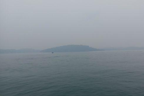 Kabupaten Lingga Kembali Diselimuti Kabut Asap Kiriman dari Jambi