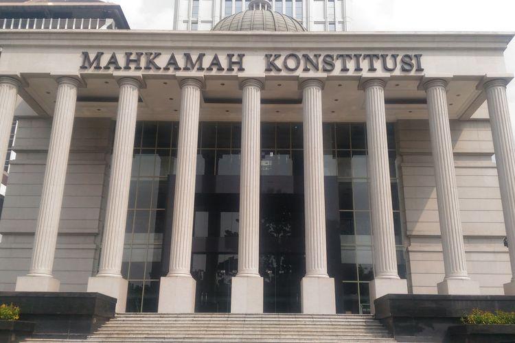 Gedung Mahkamah Konstitusi di Jakarta Pusat, Selasa (21/5/2019).