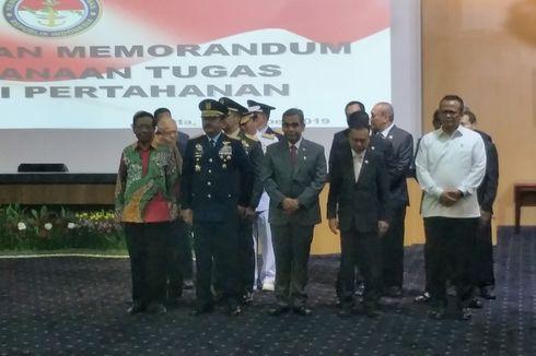 5 Petinggi Partai Gerindra Hadiri Sertijab Menhan Prabowo Subianto