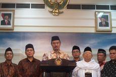 Bukan soal Aksi 313, Ini yang Dibahas Jokowi dan MUI di Istana