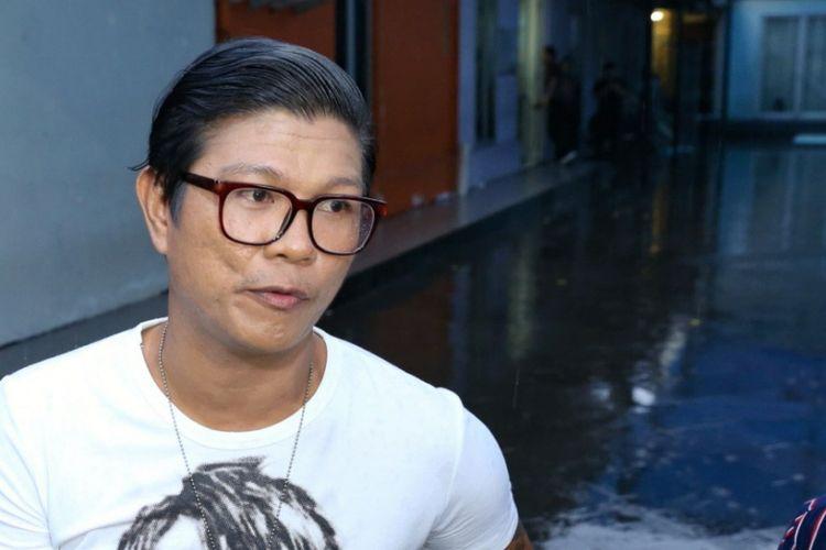 Andika Mahesa dalam wawancara di Tendean, Jakarta Selatan, Kamis (8/2/2018).