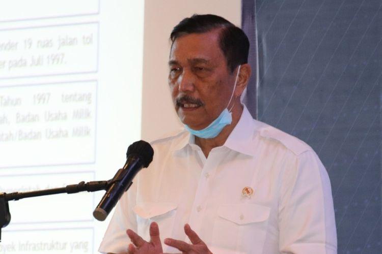 Asosiasi Jalan Tol Indonesia mwlaksanakan rapat koordinasi di Hotel Ayana Labuan Bajo bersama dengan Menteri Luhut Binsar Panjaitan dan Menteri PUPR, Kamis-Jumat, 10-11/ September 2020. (HANDOUT/ATI)