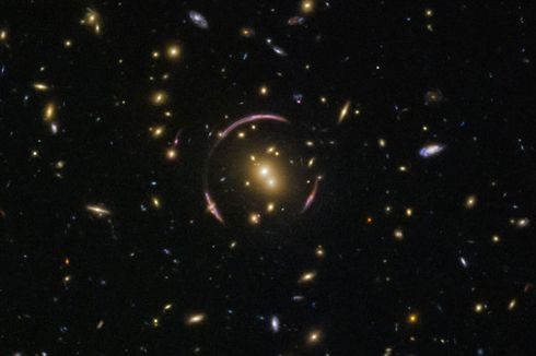 Einstein Terbukti Benar, Teori Relativitas Umum Bekerja di Galaksi Lain
