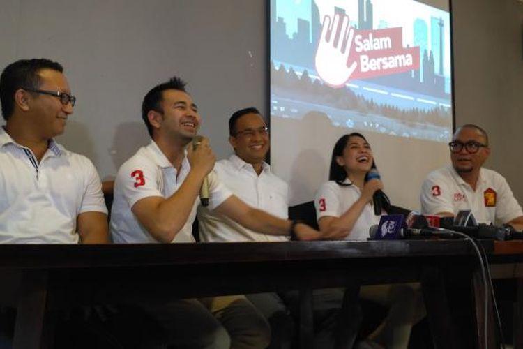 Suasana konferensi pers peluncuran program