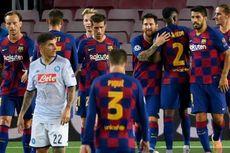 Babak I Barcelona Vs Napoli, Satu Kaki Blaugrana di Perempat Final Liga Champions