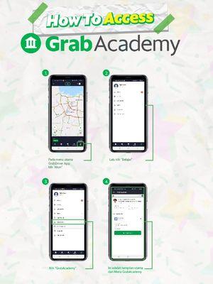 Cara mengakses GrabAcademy
